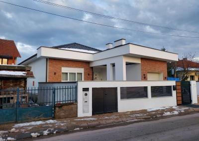 Visokogradnja,kuća sa bazenom